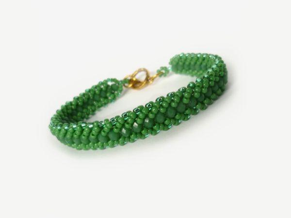 Shamrock+Green+bransoletka++w+Niezwykła+Projektownia+na+DaWanda.com