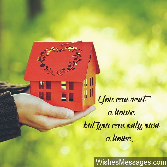 New Home Wishes and Messages: Congratulations for Buying a ...