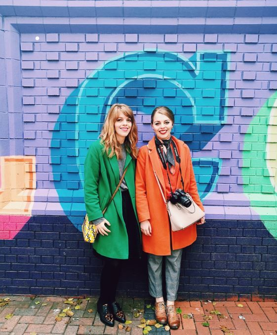 We are so excited to be joined by the wonderful sisters Abigail and Chloe from creative agency Buttercrumble following the launch of our exclusive collaboration with them! Read the full Q&A on #gossipstation via our website here: https://www.alegremedia.co.uk/single-post/2017/10/11/GOSSIP-STATION-Buttercrumble  www.alegremedia.co.uk #alegremedia