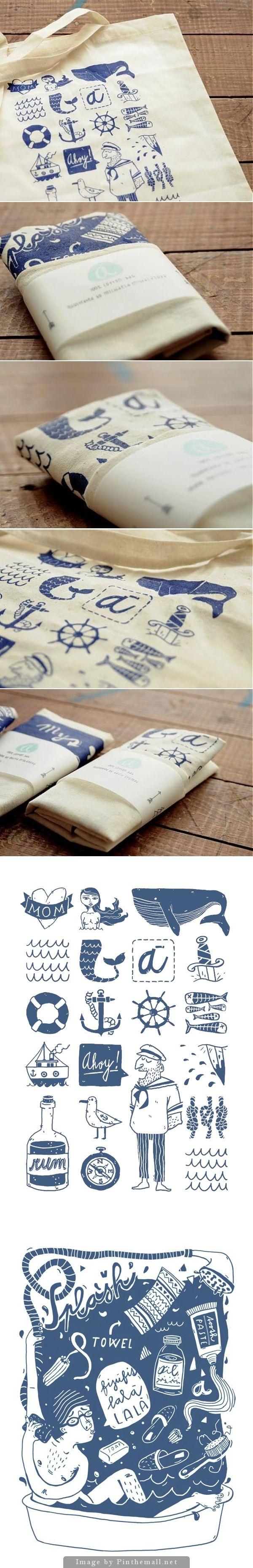#packaging #design #illustration