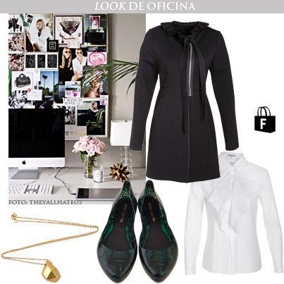 Para ir a la oficina con un look de @Tienda Fucsia, disponible en >> www.tiendafucsia.co