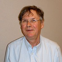 "Sir Richard Timothy ""Tim"" Hunt (born 19 February 1943) is an English biochemist. He was awarded the 2001 Nobel Prize in Physiology or Medicine with for the discovery of protein molecules that control the division (duplication) of cells."