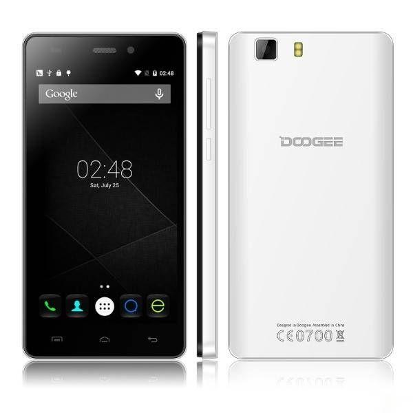 EU Direct | (UK Warehouse) DOOGEE X5 5-inch Android 5.1 MTK6580 Quad-core Smartphone