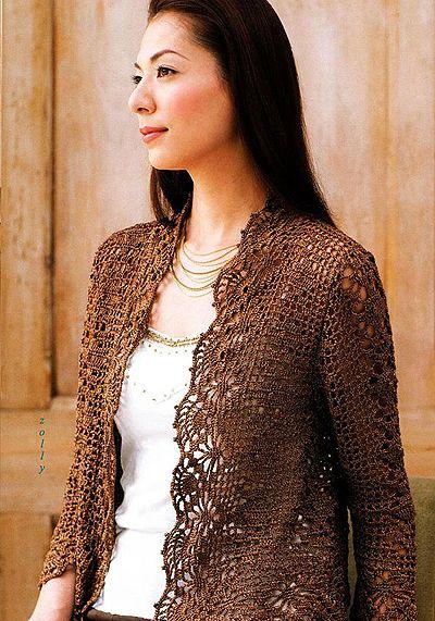 Delicadezas en crochet Gabriela: Boleros                              …