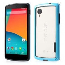 Bumper Nexus 5 Ultra-slim Backless - Azul  $ 18.721,46