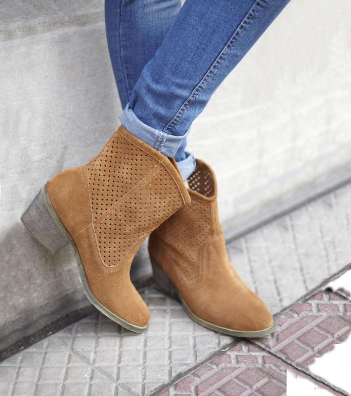 Quiero esos botines  Botín cuero Tatienne
