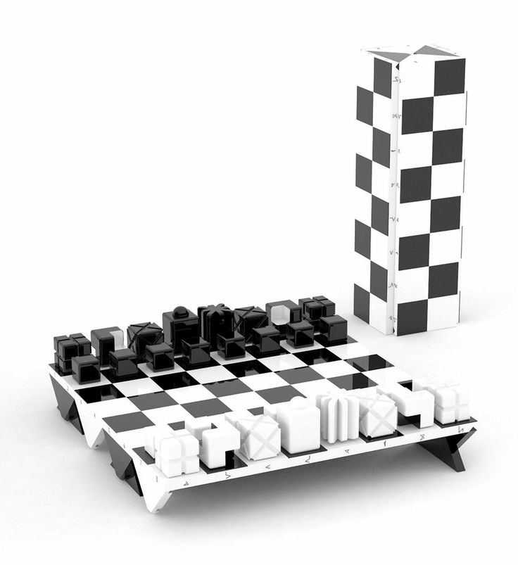 Darko Nikolić: Victor Chess Set   Logical Design. Intelligent ...