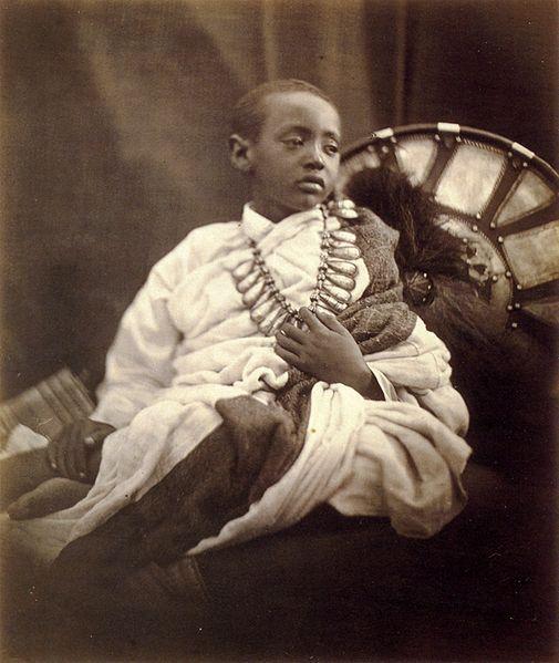 Prince Alemayehu or Alamayou of Ethiopia (23 April 1861 – 14 November 1879) was the son of Emperor Tewodros II of Ethiopia.