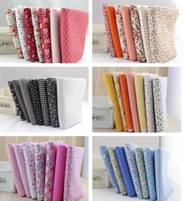7 szt. 50x50 bawełna Zestawy-wysoka jakość - One-Stop - Zestawy tkanin