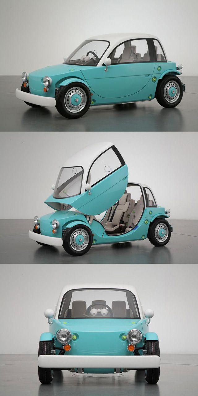 Toyota camatte concept car for kids