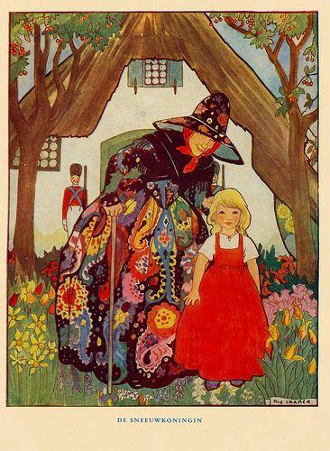 """Hansel & Gretel"" by Rie Cramer, 1955."