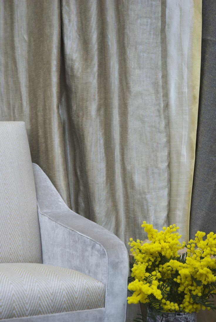 Antoine d'Albiousse Curtains  #interior #design #sofa #curtain #decor #floral