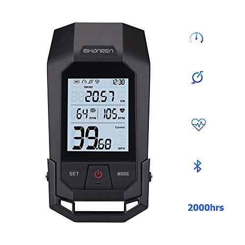 Shanren Bike Computer Speedometer Odometer Heart Rate