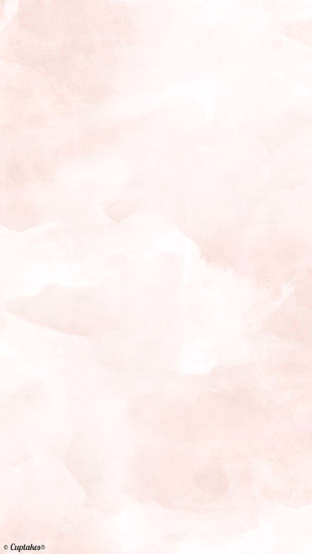 Blush coral cloudy watercolour iphone phone background wallpaper lock screen