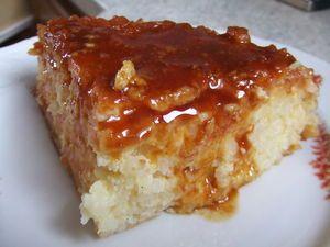 gateau de riz comme le yabon