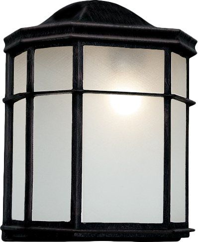Unwind on the porch while watching the sunset under the warm glow of this lovely wall lantern, or add it to your sunroom to tie together a midcentury-inspired ensemble.