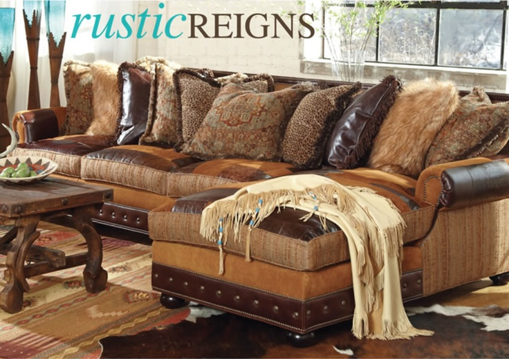 Love Love Love This Couch And The Deer Skin Throw Ain T