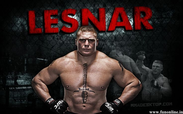 Here Comes The Pain Brock Lesnar Wallpaper