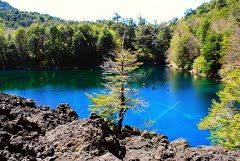 Panoramio - Photo of Lago Arcoiris, Parque Nacional Conguillio, Chile