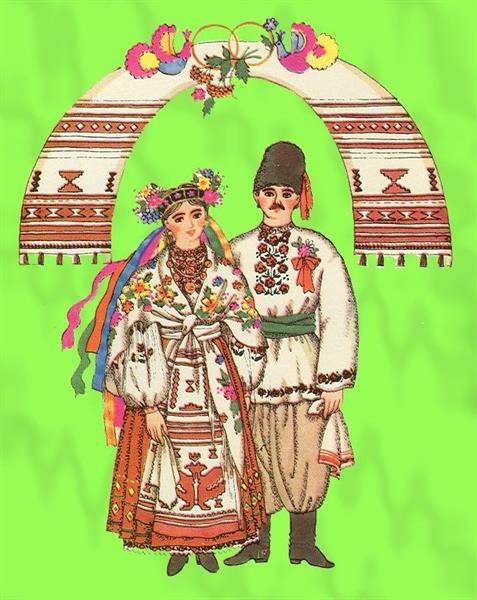 Национальный костюм украинской свекрови