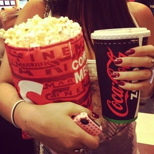 Movie theater popcorn! Mouth-watering deliciousness! ...that is also really bad for you...