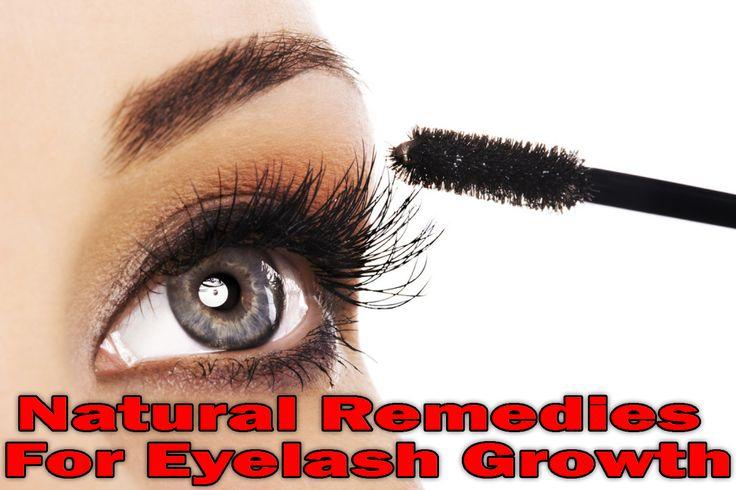 Natural Remedies For Eyelash Growth