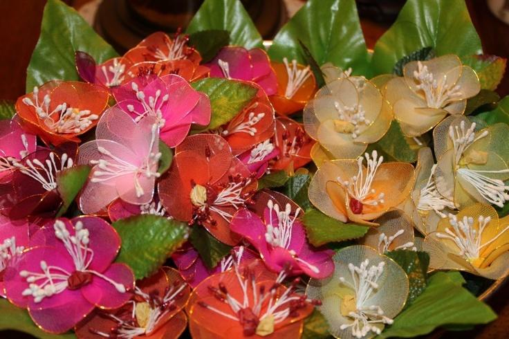 Haldi kumkum flowers! - South Indian wedding tradition