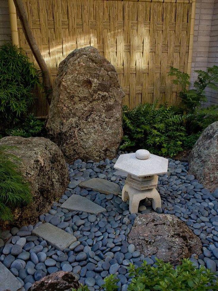 Amazing Modern Rock Garden Ideas For Backyard