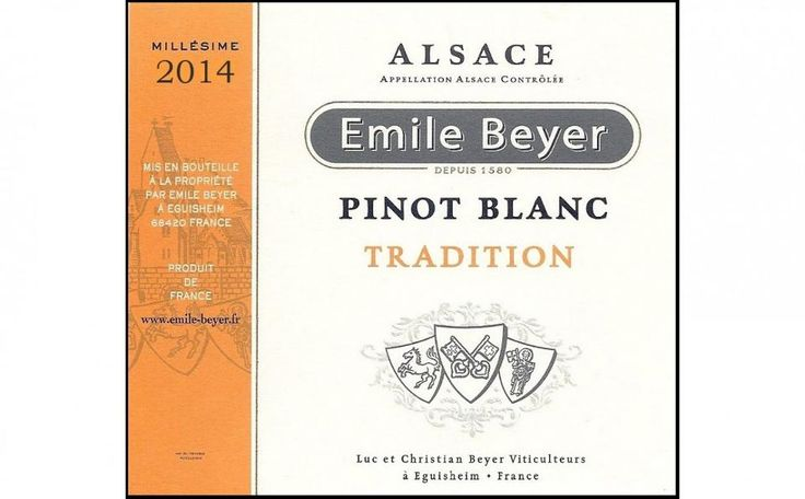 Emile Beyer's Pinot Blanc is one of the best bottles of pinot blanc under $20. Check out the rest of our list of Top 20 white wines that won't break the bank.