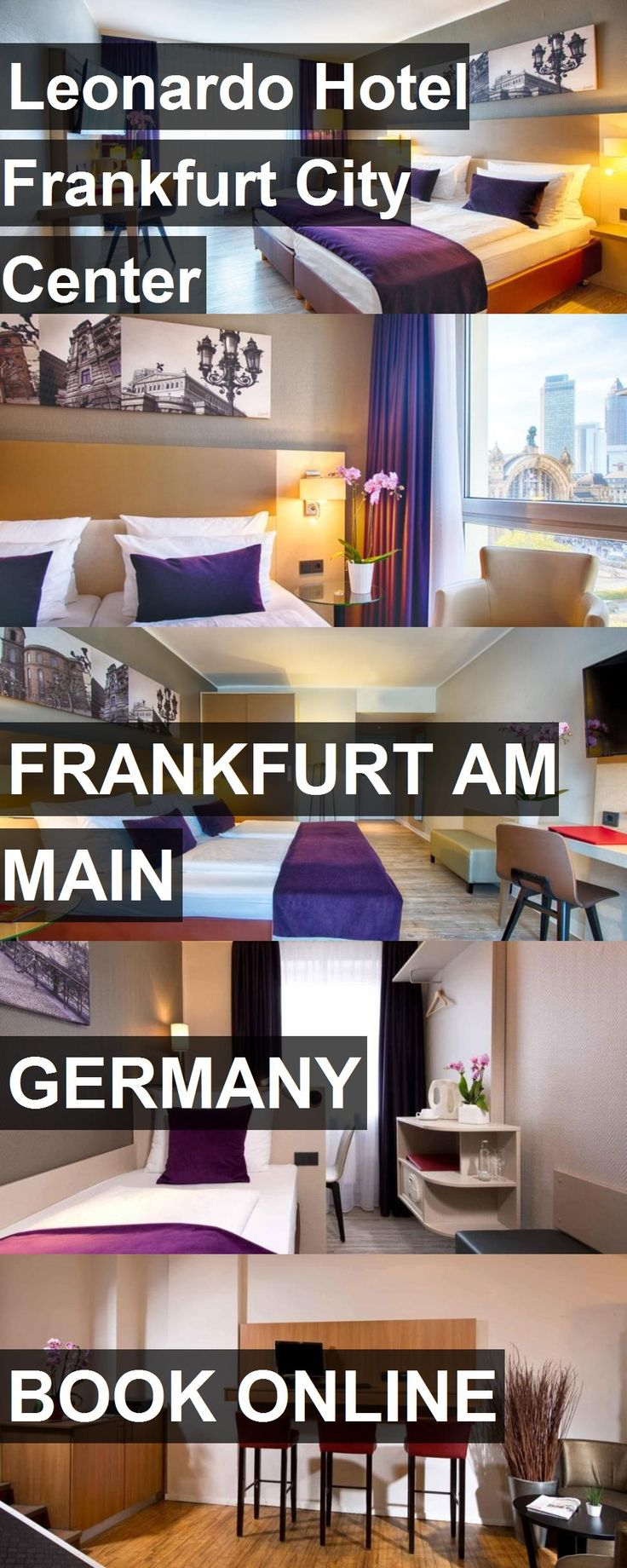 Hotel Leonardo Hotel Frankfurt City Center in Frankfurt am Main, Germany. For more information, photos, reviews and best prices please follow the link. #Germany #FrankfurtamMain #LeonardoHotelFrankfurtCityCenter #hotel #travel #vacation