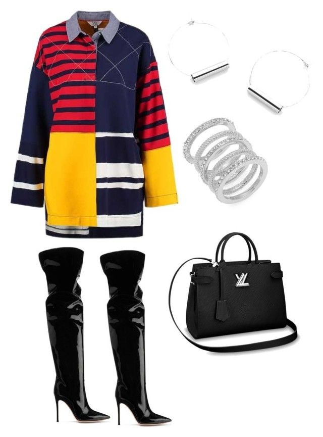 """""""Pieces"""" by ericasj on Polyvore featuring Gianvito Rossi and Cole Haan"""