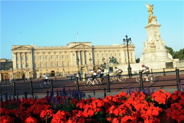 Palace to Palace Cycle Ride
