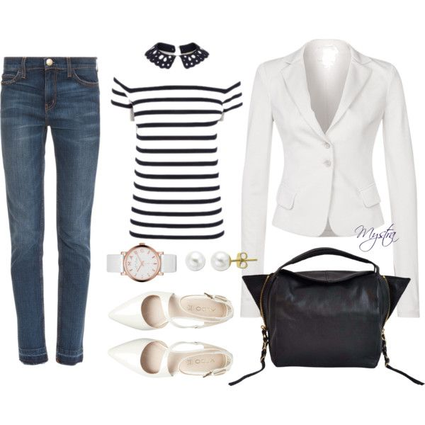 """""""Cropped jeans for any occasion"""" by cafemystra on Polyvore"""
