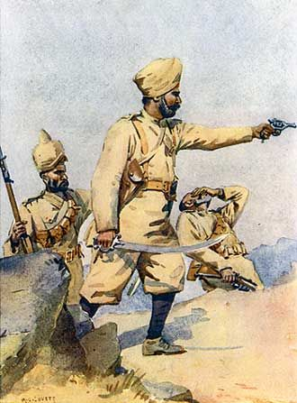 Battle of Charasiab, 6th October 1879, 23rd Punjab Infantry
