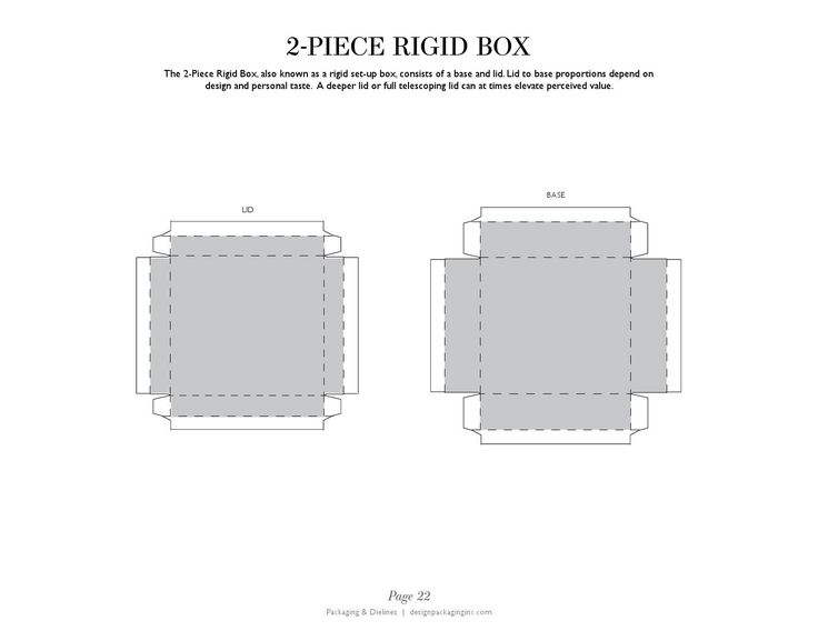 PACKAGING & DIELINES: The Designer's Book of Packaging Dielines  The FREE e-book for packaging and graphic designers containing a collection of editable retail packaging dielines that are ready to download, design, and share.  To Download: 1. Click on Share. 2. Click on Download. 3. Open PDF in Illustrator to Desired Page.