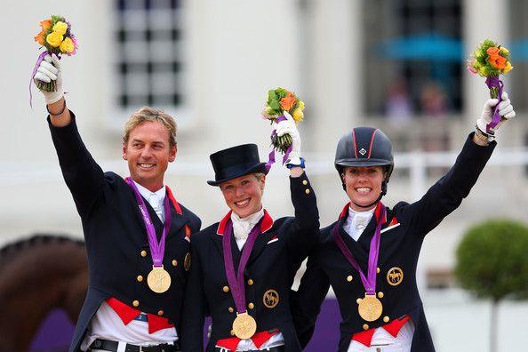 Hester, Bechtolsheimer, Dujardin - Gold Medal Team Dressage