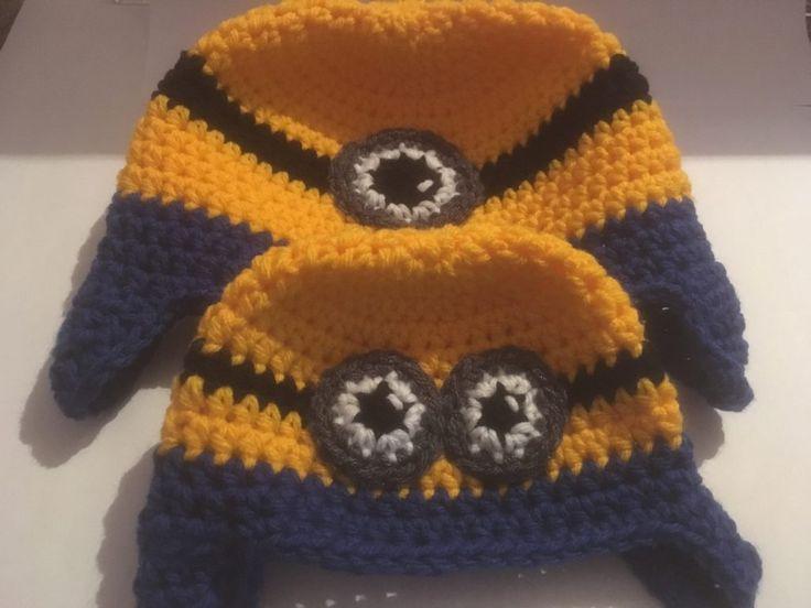 Knitting Pattern For Minion Beanie : Best 25+ Minion Beanie ideas on Pinterest Crochet minion hats, Minion hats ...