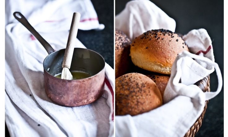 Kitchenette — Burgerové housky