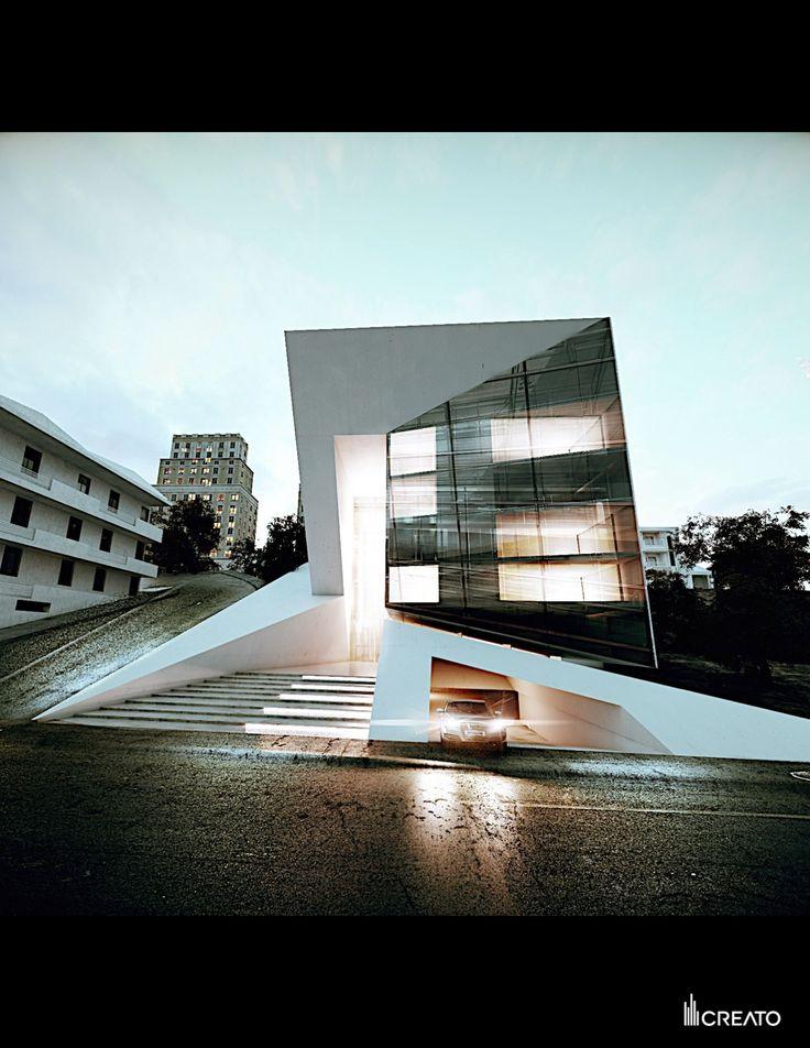 Diamant Hotel, France Creato Architects