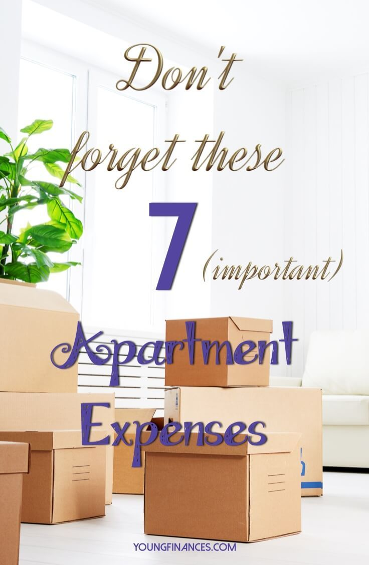 Perfect! I found this just in time. Getting ready to move out and I need to know what apartment expenses I should expect. Saving this!