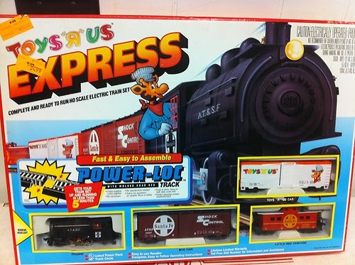 Toys R Us Trains : Vintage toys r us express ho train set w geoffrey