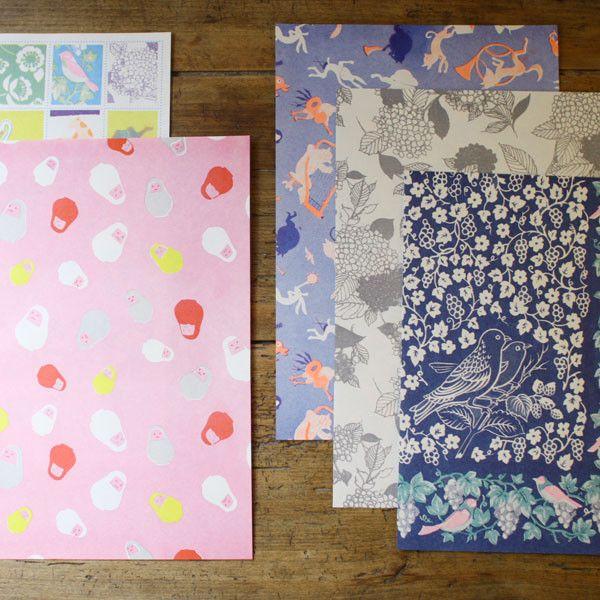 Yonagadou Modern Japan Reproduction Paper {Marching Band} | UGUiSU Online Store