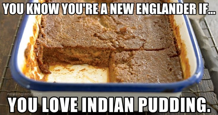 Here's a classic, old-fashioned recipe for New England Indian Pudding from the Yankee archives, made with cornmeal, molasses, ginger, and cinnamon.