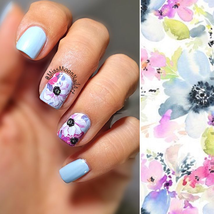 Winter flowers #winterflowers #nailart #nailartdesign #beautifulnaildesigns #flowernails #waterdrcals #skyblue #nailpolish #nailpolishaddict #iamback #readyforexam #fashionnails #allaboutnailsofficial #myhobby #mypassion #december2016 #flowerpattern #flowerdrawing #dowhatyoulove #missmoonnailart #nailartpic #lovemynails #opi #opitopcoat #naturalnailover #nails2inspire #nailstoinspire #bornpretty