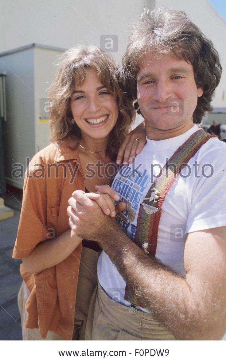 robin williams with wife marsha garces 198011472