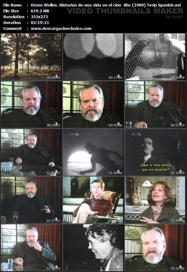 Captura: Con Orson Welles: Historias de una vida en el Cine - 1988: Captura: Con Orson Welles: Historias de una vida en el Cine - 1988