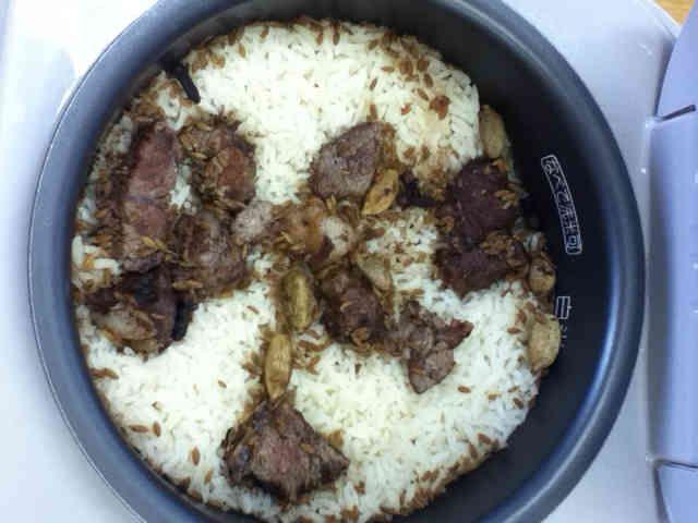 簡単☆東アフリカ料理☆ピラウ