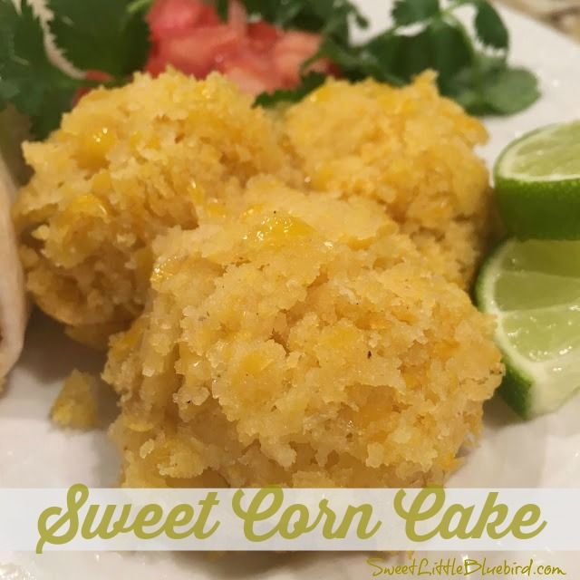 Today I am sharing an awesome tried & true recipe, a favorite side dish for any Mexican meal, Sweet Corn Cake! Just like the sweet corn ...