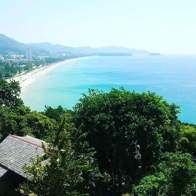 Honeymoon view, this time two years ago. Karon Beach, Thailand. How time flies. #honeymoon #wishiwasthere #karonbeach #thankful #thailand #beautiful #beach