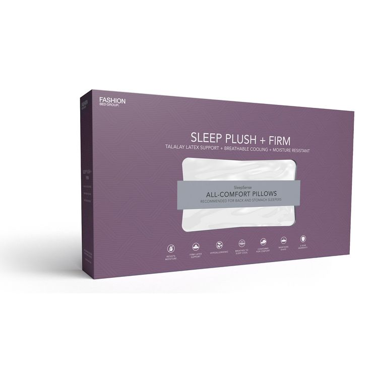 Sleep Plush Firm Pillow by Fashion Bed Group - QG0188